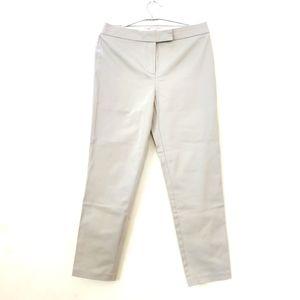 Marks and spencer beige ankle crop formal  pants